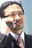 ビジネスマン 幹部社員 営業 電話応対 接遇 マナー 話し方